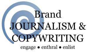 brand journalist and copywriter