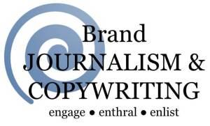 brand journalist and copywriter